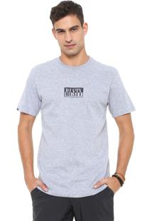 Camiseta Rusty Halves Cinza