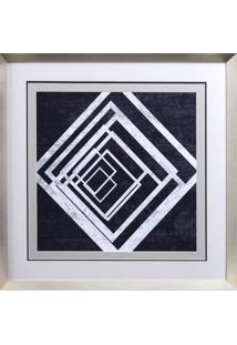 Quadro Decorativo Indigo And White Ii