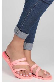 Chinelo Mix Print Coral Coral
