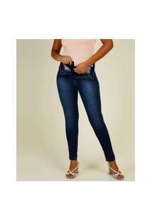 Calça Jeans Skinny Feminina Super Lipo Sawary