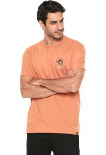 Camiseta Hering Estampada Laranja