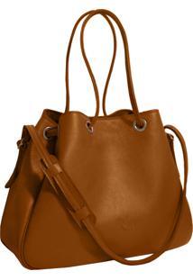 Bolsa Line Store Leather Sacola Caramelo Judd - Kanui