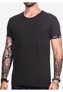 Camiseta Hermoso Compadre Poá Masculina - Masculino-Preto