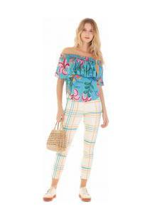 Calça Zinco High Waist Cós Alto Abertura Barra Jeans