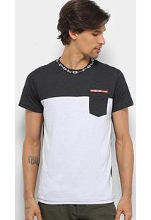 Camiseta Polo Rg 518 Careca Recorte Masculina - Masculino