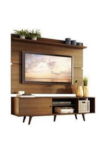 Rack Madesa Dubai E Painel Para Tv Até 65 Polegadas Com Pés Rustic Mdes0200145Z5Z