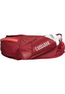 Pochete De Hidratação Camelbak Flash Belt Vermelho Com Garrafa Peak Chill