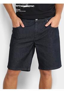 Bermuda Jeans Colcci Benjamin Masculina - Masculino-Azul Escuro