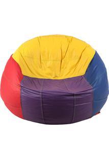 Puff Big Ball Vôlei De Praia - Stay Puff Colorido