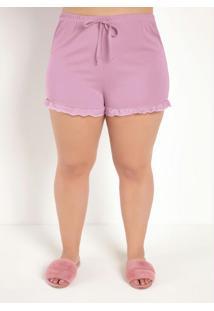 Pijama Curtorosa Com Babadinhos