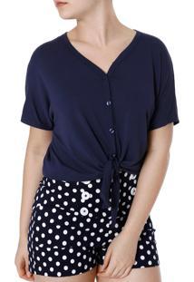 Camisa Autentique Azul