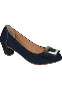 Sapato Exclusiva - Feminino-Marinho