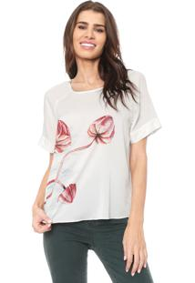 Blusa Lez A Lez Atlantis Off-White