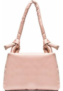 Kassl Editions Pink Lady Padded Satin Shoulder Bag - Rosa