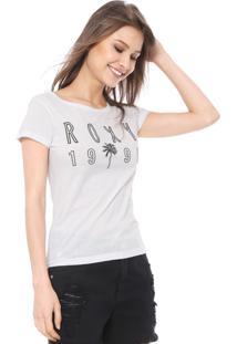 Camiseta Roxy Oh Shade Branca