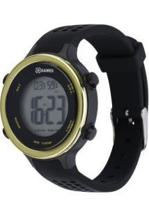 Relógio Digital X Games Xfppd062 - Feminino - Preto/Ouro