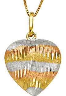 Anel Em Ouro Galeria Redonda Com 55 Brilhantes Em Ródio - An15524