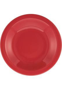 Conjunto De 6 Pratos Fundos 23Cm Floreal Red - Multicolorido - Dafiti
