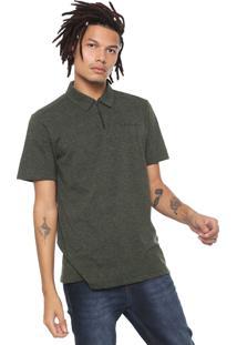 Camisa Polo Oakley Mod Crossrange Verde