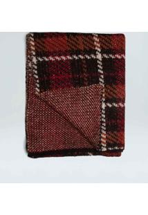Cachecol Tricot Toffee Apple-Preto/Rouge/Tabaco - Un