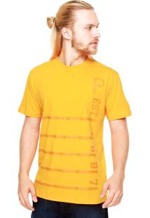Camiseta New Era Est Pittsburgh Pirates Laranja
