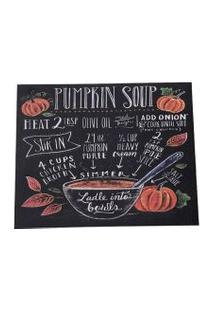 Jogo Americano Cozinha Decorativo Personalizado Soup Preto