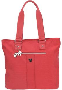 Bolsa Luxcel Mickey Vermelha