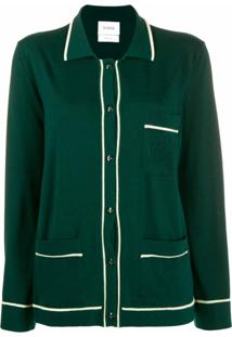 Barrie Cardigan De Cashmere - Verde
