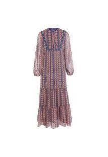 Vestido Longuete Debrum - Marrom