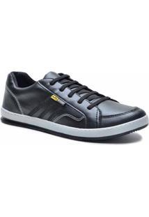 Sapatênis D&R Shoes Casual Masculino - Masculino-Preto