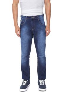 Calça Jeans Biotipo Skinny Desgastes Azul