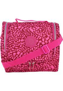 Bolsa Lenna'S Marmiteira Térmica B012 Estampada Pink
