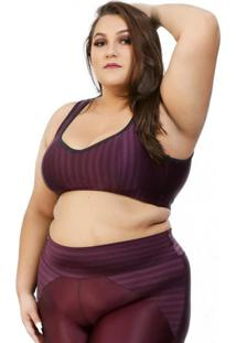 Top Corpusfit Fitness Oriental - Uva Plus Size