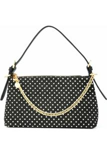 Zac Zac Posen Polka-Dot Shoulder Bag - Preto