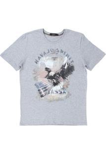 Camiseta Tassa 23118 Masculina - Masculino-Cinza