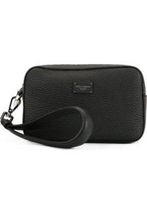 Dolce & Gabbana Bolsa Carteira Com Zíper - Preto