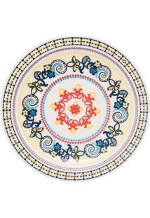 Conjunto De 6 Pratos Rasos 26Cm Floreal La Pollera - Multicolorido - Dafiti