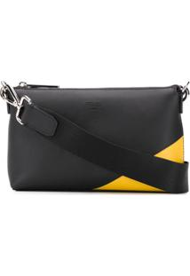 Fendi Clutch Bag Bugs Bicolor - Preto