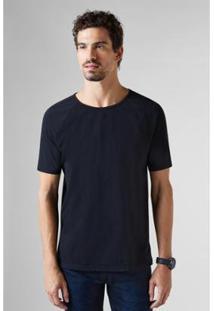 Camiseta Reserva Pf Raglan Flame Masculina - Masculino-Preto
