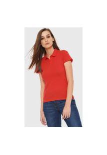Camisa Polo Malwee Lisa Laranja
