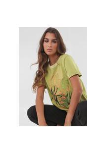 Camiseta Forum Leaves Verde