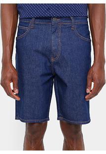 Bermuda Jeans Sommer Classic Escura Masculina - Masculino-Jeans