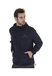 Jaqueta Com Capuz Hang Loose Joy - Masculina - Azul Escuro