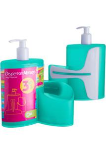 Dispenser Abraço Verde 600Ml 10864/0129 - Coza - Coza