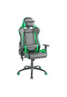 Cadeira Gamer Husky Blizzard, Black Green - Hbl-Bg
