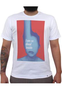 Dead Inside - Camiseta Clássica Masculina