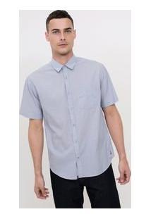 Camisa Comfort Em Voile