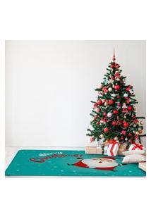 Tapete De Natal Para Sala Merry Christmas Único