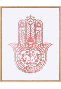 Quadro Decorativo Vermelho Mart Collection