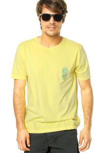 Camiseta Mandi Summer Amarela